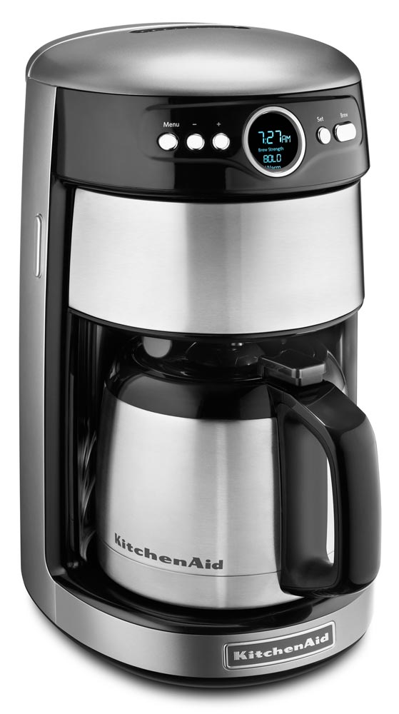 Kitchenaid Coffee Maker Black Friday : KitchenAid KCM1203CU KitchenAid Thermal 12-Cup Coffee Maker Contour Silver at Chefs Corner Store