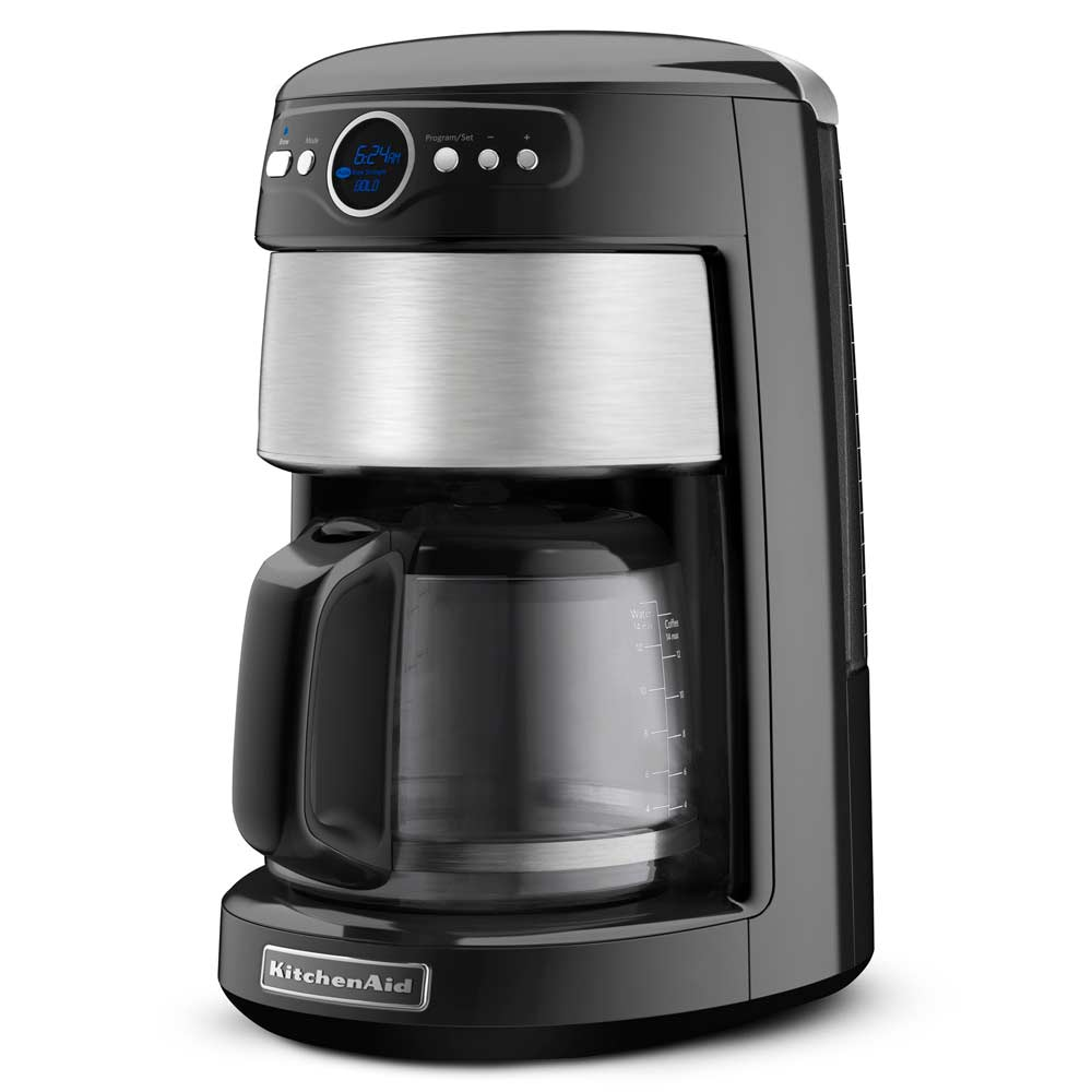 KitchenAid KCM1402OB 14-Cup Coffee Maker Onyx Black at Chefs Corner Store