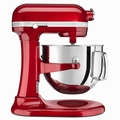 KitchenAid KSM7586PCA Pro Line Stand Mixer 7 Quart, Candy Apple Red