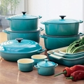 Le Creuset Caribbean Blue Collection