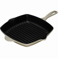 Le Creuset Enameled Cast Iron 10.25 Inch Square Grill, White