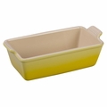 Le Creuset Heritage Stoneware Loaf Pan, Soleil Yellow