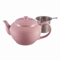 Le Creuset Large Teapot with Steel Infuser, Pink