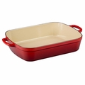 Le Creuset Signature 7 Quart Cast Iron Roaster, Cherry Red