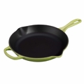 Le Creuset Signature Cast Iron 10.25 Inch Skillet, Palm Green