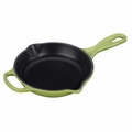 Le Creuset Signature Cast Iron 6.3 Inch Skillet, Palm Green