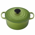Le Creuset Signature Enameled Cast Iron 2 Quart Round French Oven, Palm Green