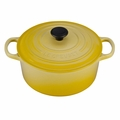 Le Creuset Signature Enameled Cast Iron 3.5 Quart Round French Oven, Soleil Yellow