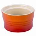Le Creuset Stoneware 7 Ounce Stackable Ramekin, Flame Orange