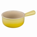Le Creuset Stoneware French Onion Soup Bowl, Soleil Yellow
