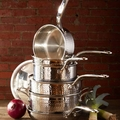 Martellata Hammered Stainless Steel Collection