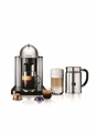 Nespresso VertuoLine Coffee & Espresso Maker with Aeroccino Milk Frother, Chrome