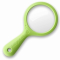 New Soda Refrigerator Magnifying Glass Magnet, Green