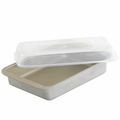 Nordic Ware Compact Covered Brownie and Cake Pan