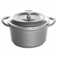 Nordic Ware Pro Cast Traditions Enameled Multipurpose Pot with Cover, 3 Quart, Slate