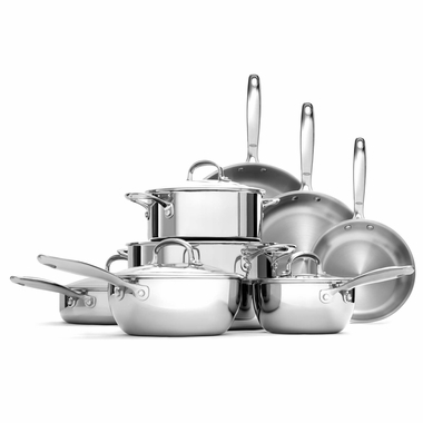 OXO Good Grips Tri-Ply Stainless Steel Pro 13 Piece Set,