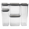 OXO SteeL 5 Piece POP Container Set