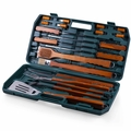 Picnic Time 18 Piece Deluxe BBQ Tool Set in Carry Case