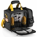 Picnic Time Anthology Laguna Insulated Cooler with Deluxe Picnic Service for Two