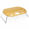 Picnic Time Legacy Mesavino Portable Wine and Snack Table