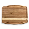 Picnic Time Legacy Ovale Acacia Wood Cutting Board, 14 by 9 Inch