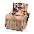 Picnic Time Moka Kabrio Picnic Basket with Wine and Cheese Service for Two