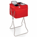 Picnic Time Party Cube Portable Cooler, Red