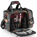 Picnic Time Pixels Laguna Insulated Cooler with Deluxe Picnic Service for Two