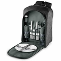 Picnic Time PT Colorado Insulated Backpack Cooler, Grey