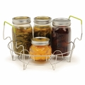 RSVP Endurance 7-Jar Canning Rack