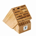 Shun DM 0832 22 Slot Bamboo Knife Block