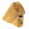 Shun DM0830 13 Slot Bamboo Knife Block