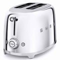 Smeg 2-Slice Toaster, Chrome
