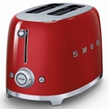 Smeg 2-Slice Toaster, Red