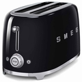 Smeg 4-Slice Toaster, Black