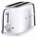 Smeg 4-Slice Toaster, Chrome