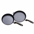 Swiss Diamond 2 Piece Nonstick Fry Pan Set, 9-1/2 and 11 Inch