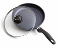 Swiss Diamond Nonstick Fry Pan with Lid, 8 Inch