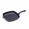 Swiss Diamond Nonstick Square Grill Fry Pan, 11 Inch