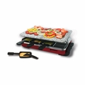 Swissmar KF-77045 Classic 8 Person Raclette with Granite Grill Top