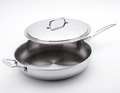 USA Pans 5-Ply Stainless Steel 13 Inch Covered Chefs Pan
