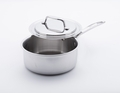 USA Pans 5-Ply Stainless Steel 2.75 Quart Saucepan