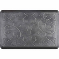 WellnessMats Estates Collection Coastal Bella Slate Gray, 3' x 2'