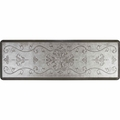 WellnessMats Estates Collection Coastal Entwine Silver Leaf, 6' x 2'