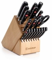 Wusthof Classic Cutlery Set with Knife Block, 20 piece
