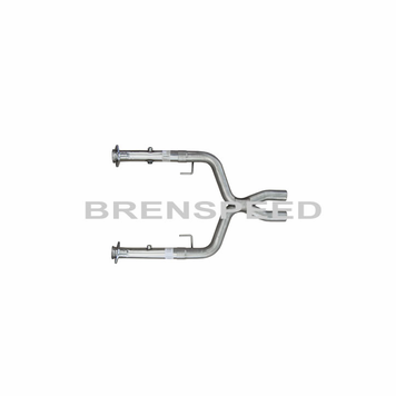 05 10 Mustang Gt Pypes Off Road X Pipe For Long Tube Headers 05 10