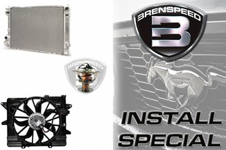 2005-2009 Brenspeed Cooling Package Installed