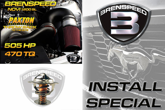 2005-2010 Brenspeed Paxton 1200 Throwback Supercharger Install Package