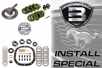 2005-2014 Mustang GT Rear End Rebuild Package with FRPP Gears Installed