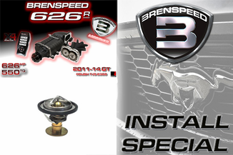 2011-2014 Brenspeed 626R Roush Supercharger Install Package